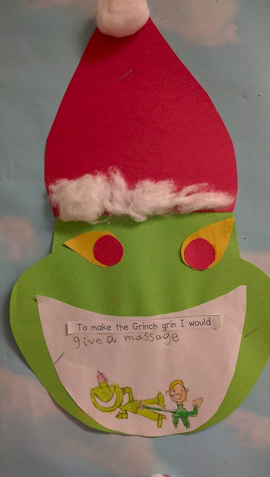 grinch massage