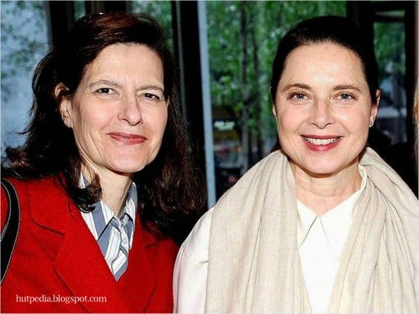 isabella rossellini and twin