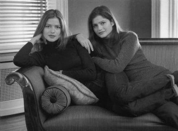 jill hennessy and twin