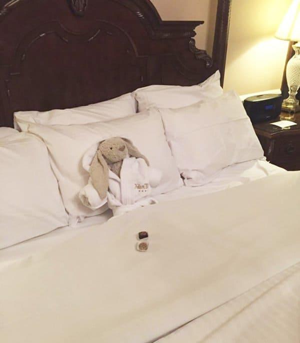 lost-bunny-hotel-adventures-adare-manor-bed