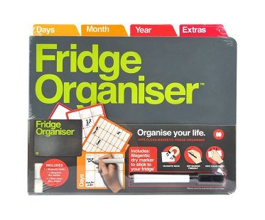 magnetic fridge organizer door