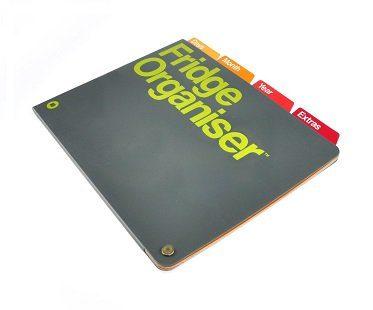 magnetic fridge organizer folder