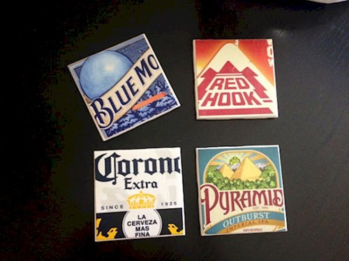 Man Cave Coasters : Awesome man cave decor ideas you should know