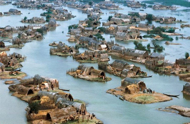 mesopotamian marshes iraq