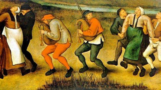 music dancing painting