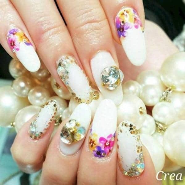 nails-floral