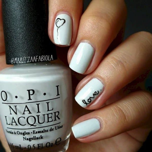 11 Pretty Nail Designs In White You Will Love