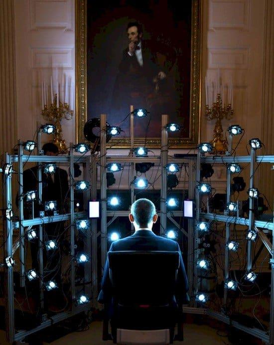 obama 3d equipment