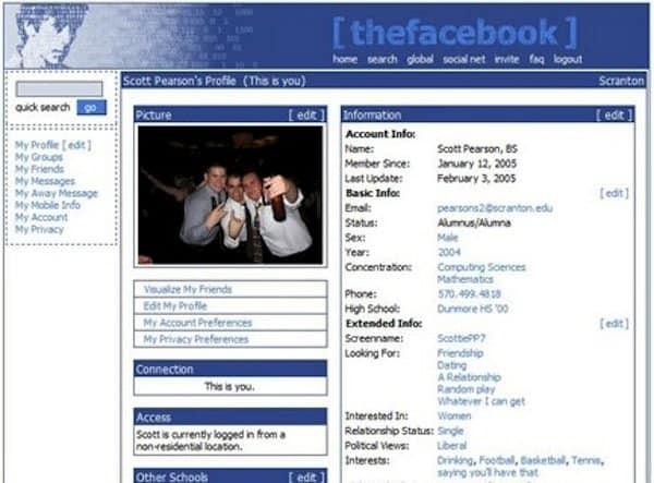 old-facebook