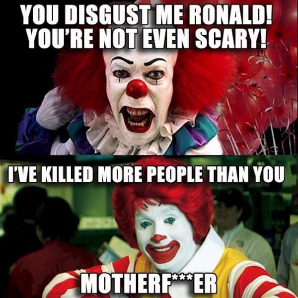 police-clown