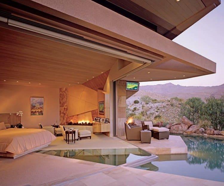 pool-bedroom-bed