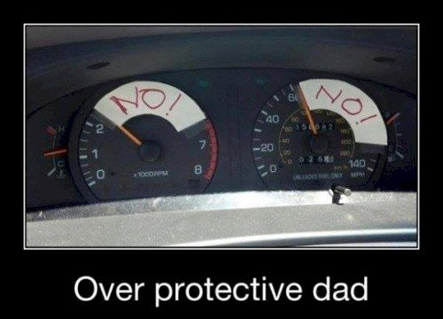 protective dad