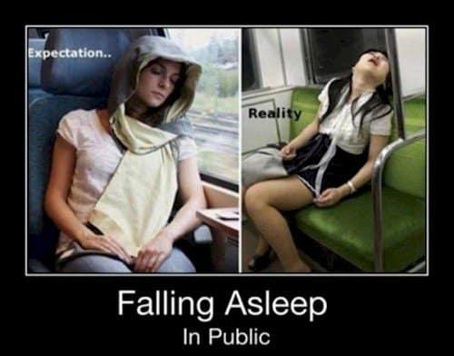 public sleep expectation reality