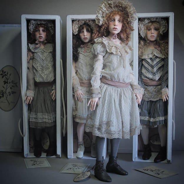 realistic-doll-faces-polymer-clay-michael-zajkov-box