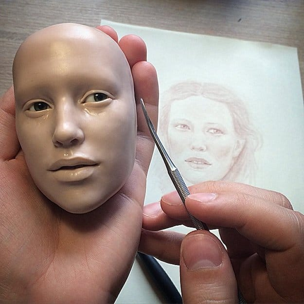 realistic-doll-faces-polymer-clay-michael-zajkov-face