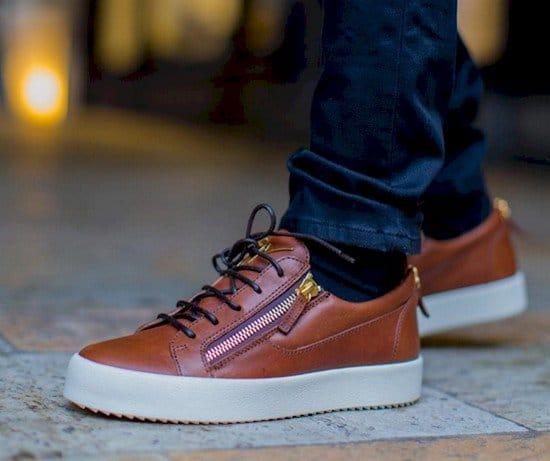 shoes zipper