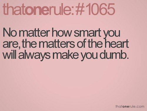 smart dumb rule