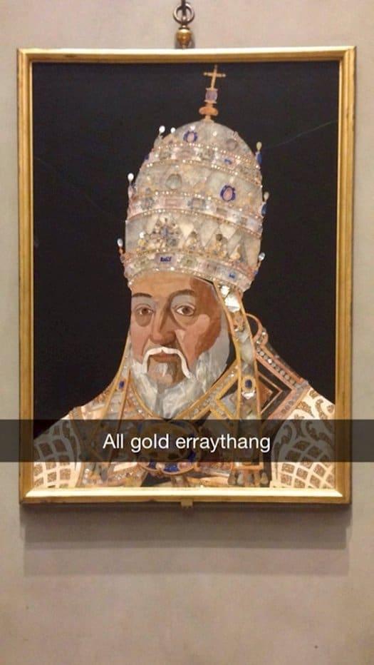 snapchat-gold