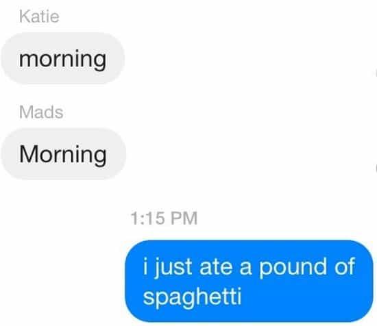 spaghetti text