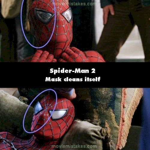 spiderman 2 mistake