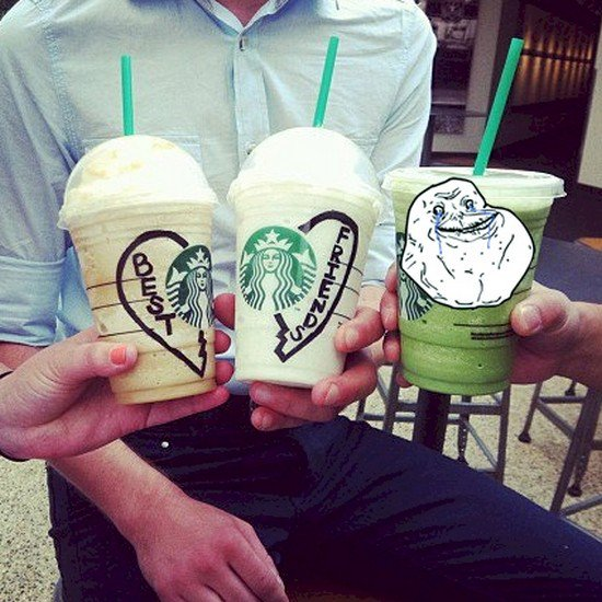 starbucks best friends