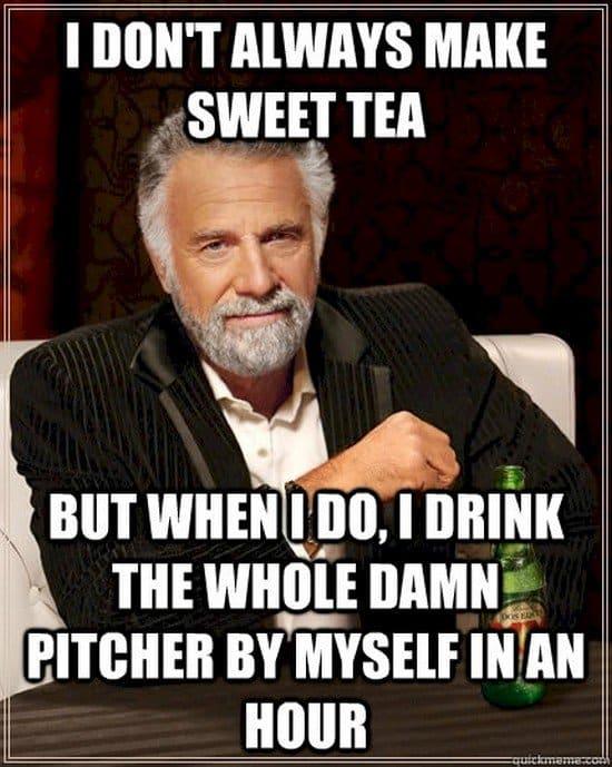 sweet tea meme