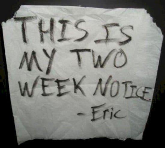 toilet paper notice
