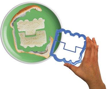 train sandwich cutter mold