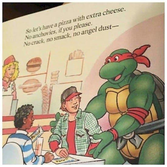 turtles pizza options