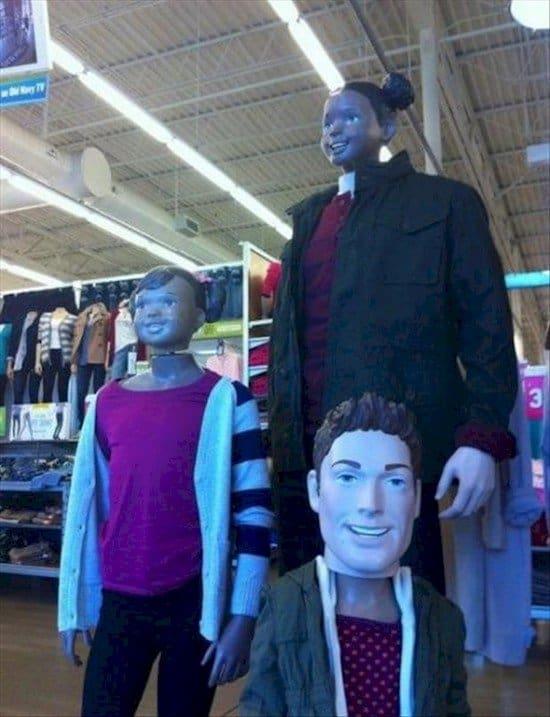 weird mannequins