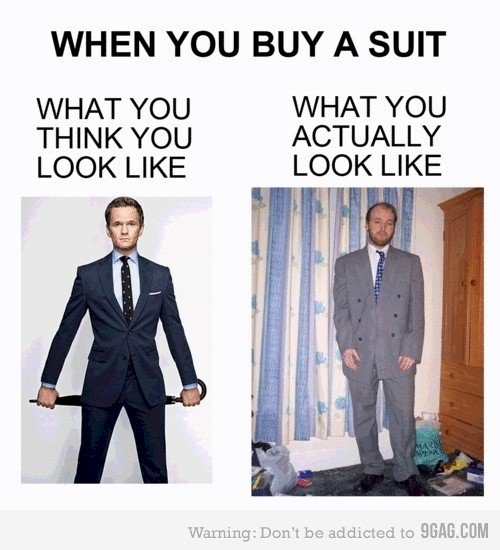 when buy suit