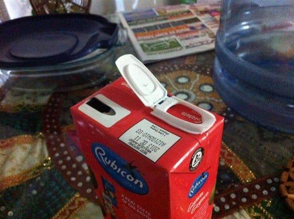 wonky carton