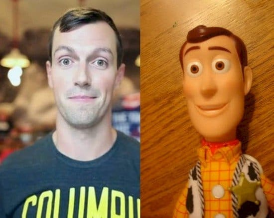 woody lookalike