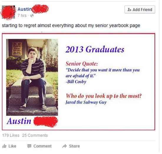 yearbook fail