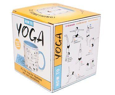 yoga poses mug box