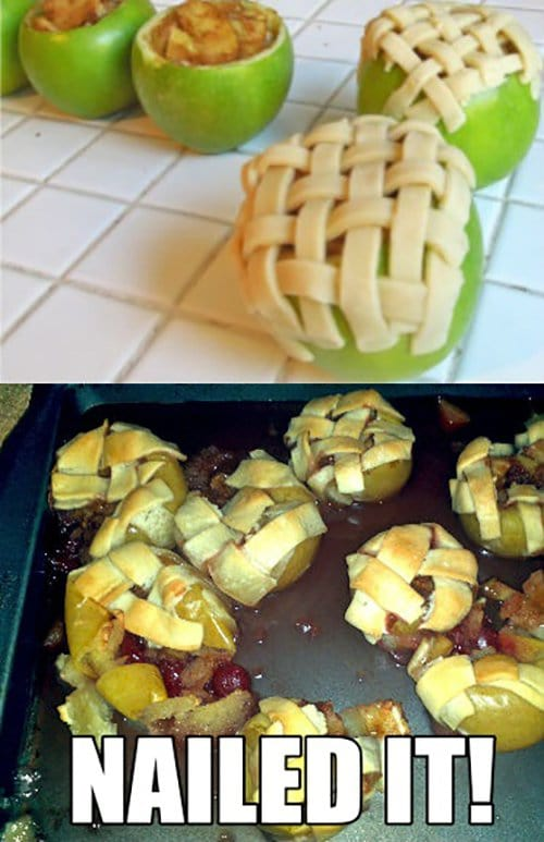 Apple Pie Fail