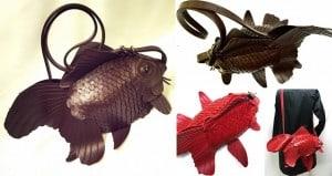 Atelier Iwakiri Goldfish Shoulder Bags