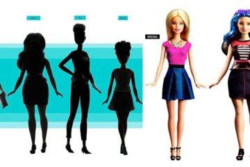 'Barbie' Dolls Realistic Waistlines