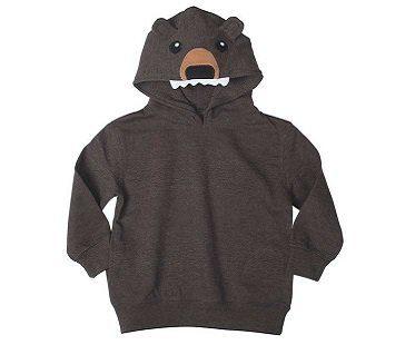 Bear Head Hoodie