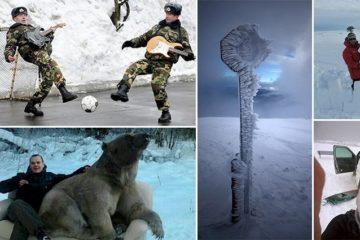 Bizarre Russian Winter
