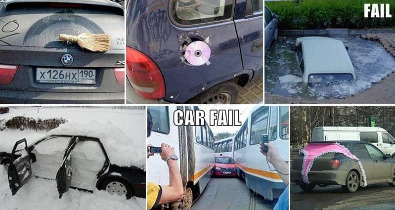 Car Related Fails