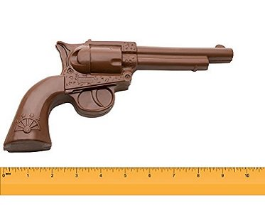 Chocolate Revolver Gun food