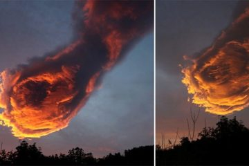 Cloud Formation Freaked Portugal