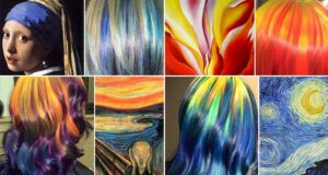 Colorful Hairdos Iconic Works Of Art