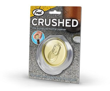 Crushed Can Bottle Opener pack