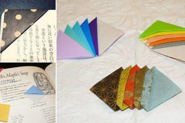 DIY Origami Bookmark