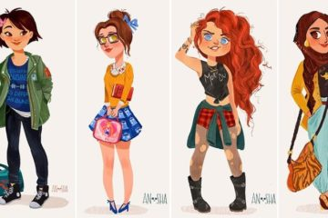 'Disney' Princesses Modern Day Anoosha Syed