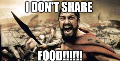 Dont Share Food