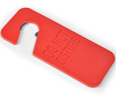 Door Hanger Bottle Opener red