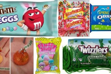 Easter Twists Traditional Candy Treats